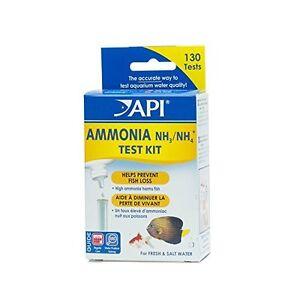 Api Ammonia 13-test D'eau Douce Et D'eau Salée De L'eau D'aquarium Test Kit-afficher Le Titre D'origine