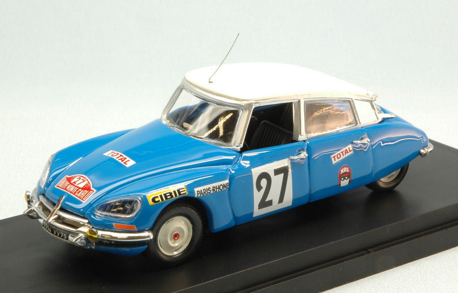 Citroen DS21  27 14th Monte Carlo 1970 N. Pouderoux   R. Vincent 1 43 Model RIO
