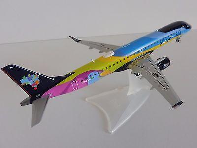 Azul Brasiliano Airlines Embraer E195 1/200 Herpa 557771 195 Brasile Verao