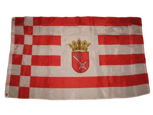 3x5 Bremen State German Germany Premium Quality Flag 3/'x5/' Banner Polyester