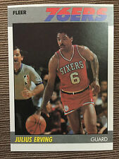 1987-88 Fleer Julius Erving #35