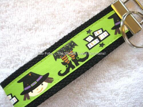 really cute keychains WITCH SHOES-BLACK Key Fobs