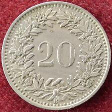 Switzerland 20 Rappen 1951 (D2004)