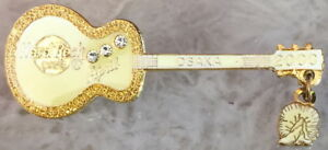 Hard Rock Cafe Osaka 2000 Calendar Birthstone Guitar Series Pin