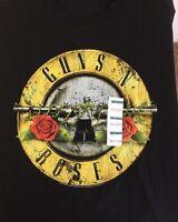 Guns N' Roses Large T Shirt With Tags Black