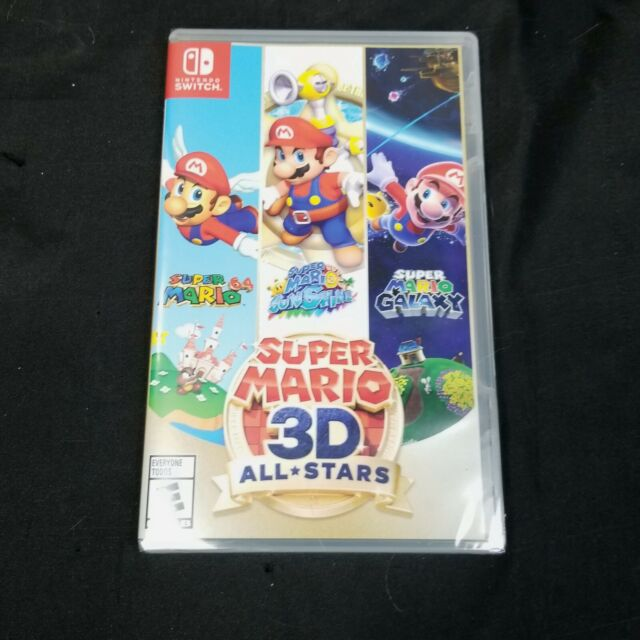 Super Mario 3D All-Stars Nintendo Switch Limited Edition Brand New 3 Games In 1