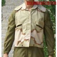 Us Military Army Desert Camo Flak Pasgt Jacket/vest Cover Size: Sm/med (new)