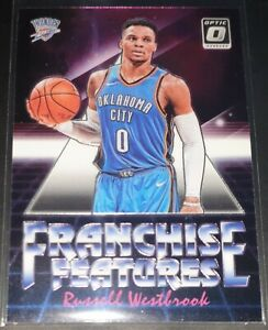 Russell-Westbrook-2018-19-Donruss-Optic-FRANCHISE-FEATURES-Insert-Card-no-21