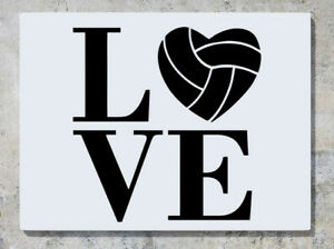 Love Basketball Softball Sports Quote Motto Logo Wall Decal Art