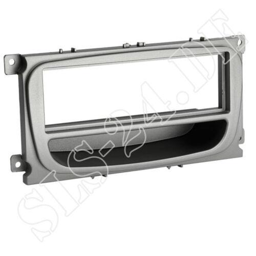 Ford S-Max wa6 C-Max dm2 radio diafragma din KFZ radio diafragma con compartimento plata