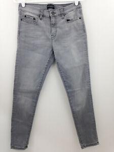 Banana-Republic-Factory-Jeans-Women-28-6-Gray-Sculpt-Skinny