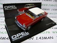 macchina 1/43 IXO eagle moss OPEL collezione no.82 : REKORD P II 1960/1963 rosso