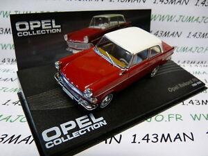 OPE64R-coche-1-43-IXO-eagle-moss-OPEL-coleccion-REKORD-P-II-1960-1963-rojo