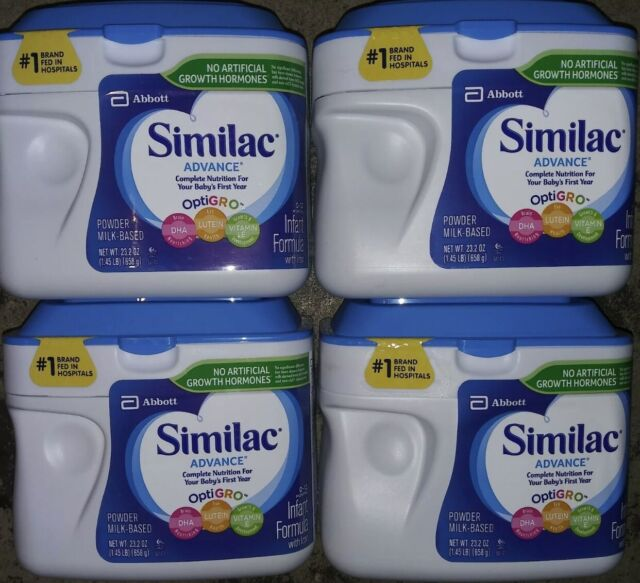 5 x SIMILAC ADVANCE 1.45LB CONTAINERS EXPIRES 03/2023 | eBay