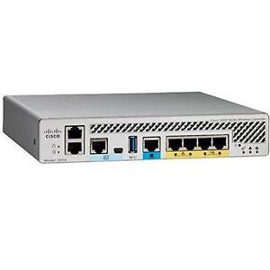 Cisco Aironet 2504 Wireless Lan Controller 4 x Network RJ45