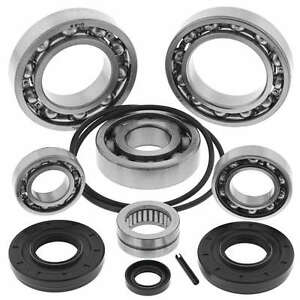 NEW All Balls REAR Differential Bearing /& Seal Rebuild Kit Can Am 800 1000 650