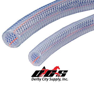 """CLEAR PVC TUBING KURIYAMA 1//8/"""" ID X 1//4/"""" OD KURI TEC NEW PER FOOT CUT TO ORDER!"""