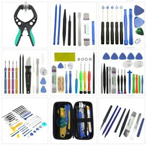 Cell-Phone-Tablet-Repair-Opening-Tool-Kit-Set-Pry-Screwdriver-For-Iphone-Samsung