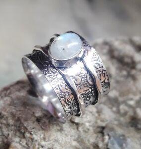 Rainbow-Moonstone-Solid-925-Sterling-Silver-Spinner-Ring-Meditation-Ring-sr98022