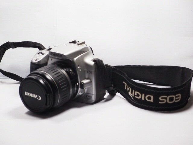 Canon EOS 400D Digital Rebel Xti 10 1MP Digital SLR Camera with EF-S II  18-55mm Lens Kit - Black