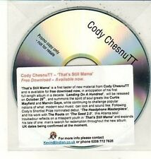(DC970) Cody Chestnutt, That's Still Mama - DJ CD