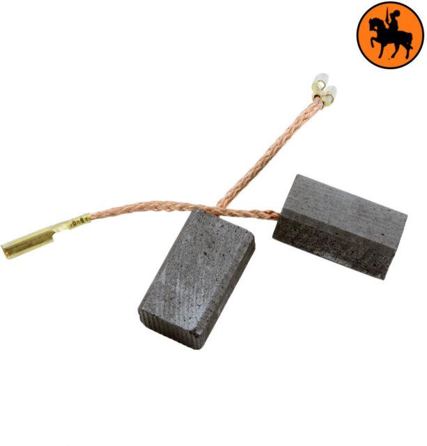 NUEVOS Escobillas de Carbón ATLAS COPCO WS6-100 ME 6x9x15,5mm