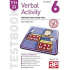 11+ Verbal Activity Year 5-7 Testbook 6: CEM Style Cloze Activity Tests: 2015 by Stephen C. Curran, Warren J. Vokes (Paperback, 2015)