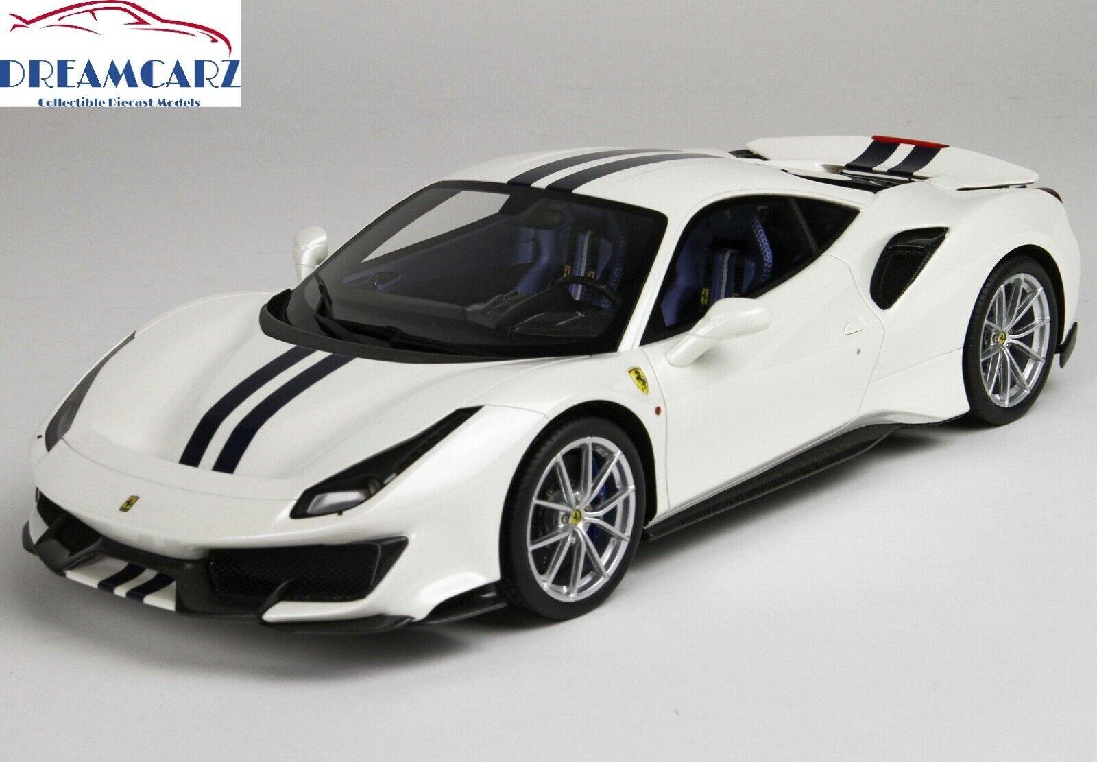 BBR P18145F 1  18 Ferrari 488 Pista 2018 - Mycket begränsad 32 pcs