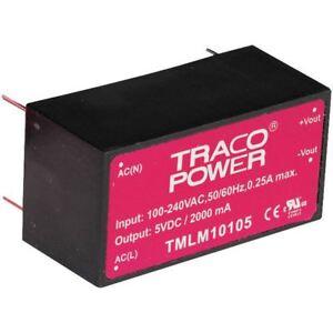 TRACOPOWER-tmlm-04105-Montaje-Del-PCB-4w-Suministro-Electrico-5v-800ma