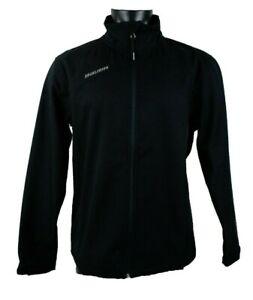 $99 Warrior Black hockey lacrosse Fleece Soft Shell Jacket Sr Mens Medium Large