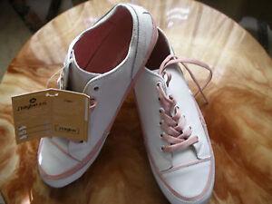 j-039-hayber-preciosas-zapatillas-mujer-piel-talla-n-41-blancas-con-rosa-nuevas