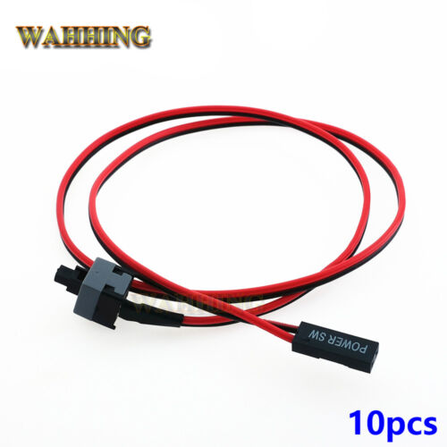 10pcs  ATX Computer Motherboard Power Cable Switch On//Off// Computer Replacement