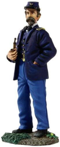 Federal Infantry Officer Standing Wearing Sack Coat with Pipe BRITAINS 31147