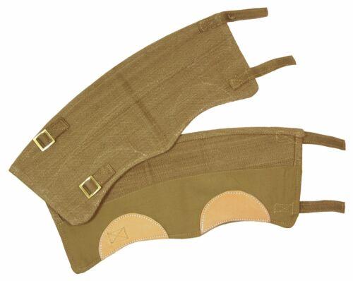 WW2 repro commonwealth jambe botte britannique 37 MOTIF KAKI Guêtres