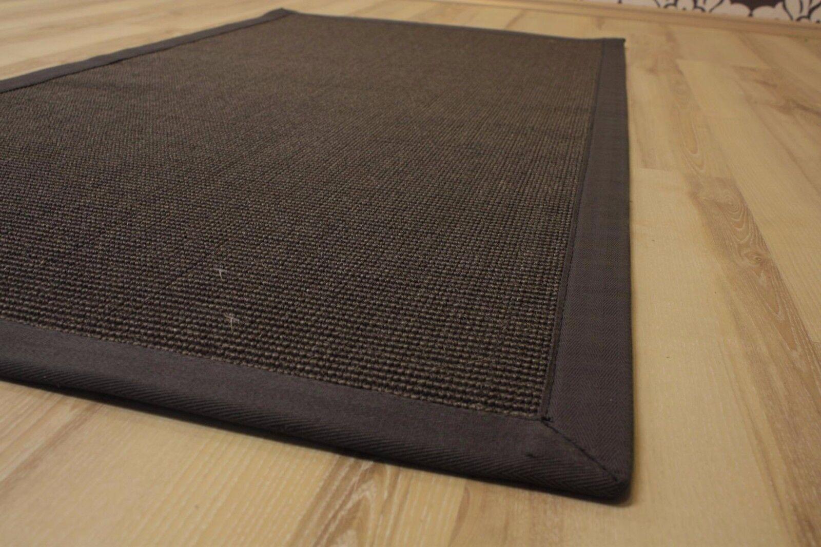 Sisal Tappeto MANAOS con medaglioni ANTRACITE 300x400 cm 100% 100% 100% Sisal granito CAMION 6feb04