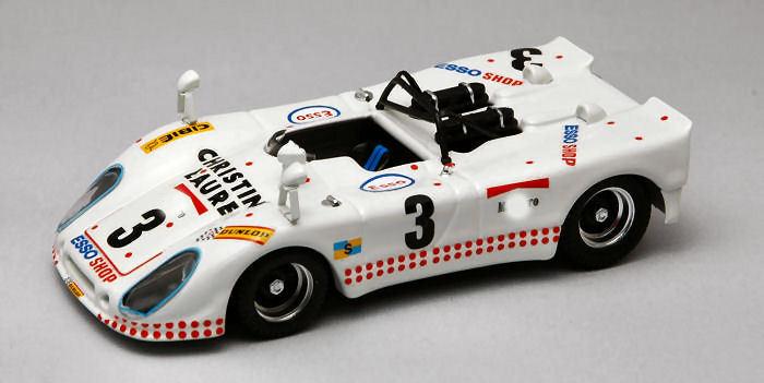 Porsche 908-2 Flunder  3 34th Lm 1975 Poirouge Ortega Cuynet Lagniez 1 43 Model