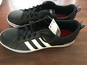 outlet store 4daba 227b4 Details about Adidas VS PACE Low Top B74494 Mens 9.5 Black Sneakers Shoes  Brand New Red Bottom