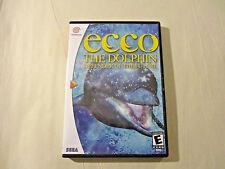 Ecco the Dolphin - Defender of the Future CUSTOM DREAMCAST CASE (***NO GAME***)