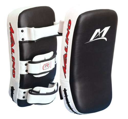 Malino CURVO Thai Pastiglie per l/'allenamento Kickboxing Arti Marziali Boxe Punch Shield