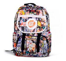 Anime Naruto Printing Backpack Student School Book Bags Shoulder Travel Bag Gift