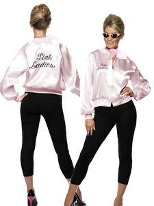 Licenced-Grease-Pink-Lady-Ladies-1970-039-s-TV-Film-70s-Jacket
