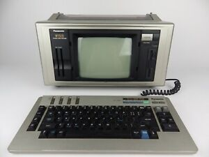Vintage Panasonic KX W1510 Word Processor Computer All in One Luggable - WORKING