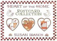 Heart of the Home Postcard Collection by Susan Branch (1994, Paperback)