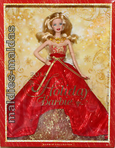 Barbie-Collector-Holiday-Doll-2014-BDH13-NEU-OVP-Puppe