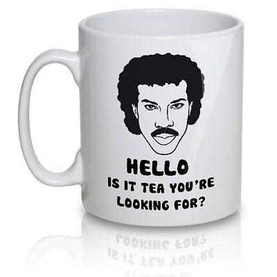 Lionel Richtea Mug - Hello is it tea you're looking for? - Ceramic Mug