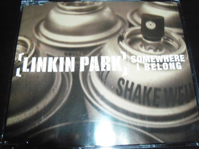 Linkin Park Somewhere I Belong  Australian CD Single - Like New