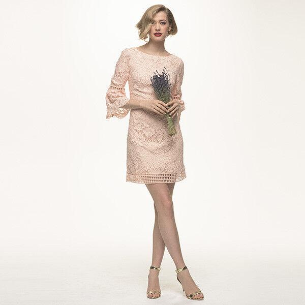 Eliza J bluee Bell Sleeve Lace Dress 2P   LAST ONE