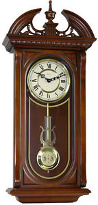 New Shenandoah Quartz Chiming Wall Regulator Clock