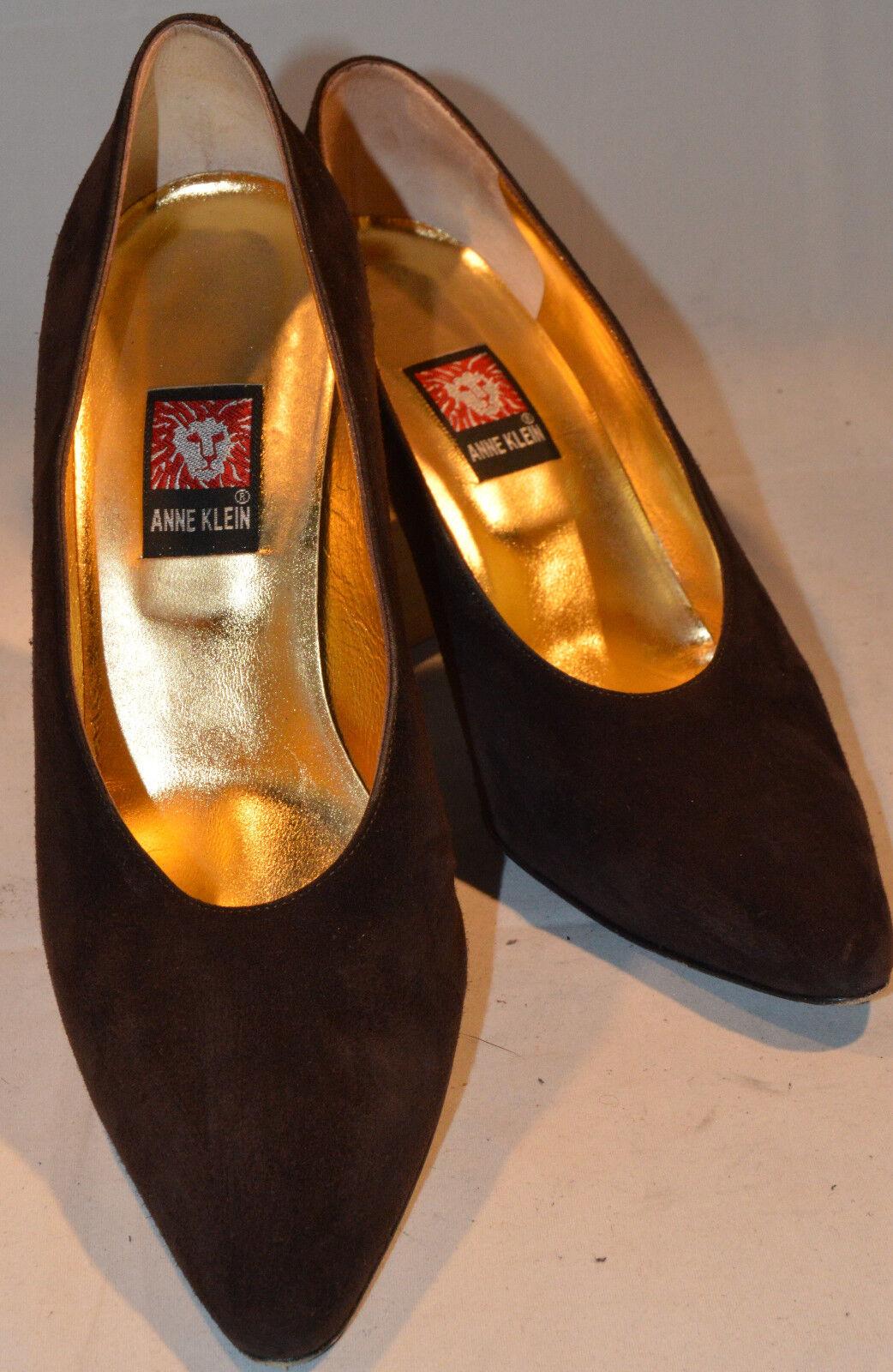 WOMEN'S Schuhe, ANN KLEIN SUEDE PUMPS, 3.5