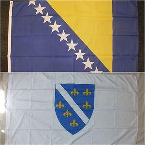 NEW 3X5 BOSNIA HERZEGOVINA FLAG BOSNIAN 3/'X5/' SIGN F594